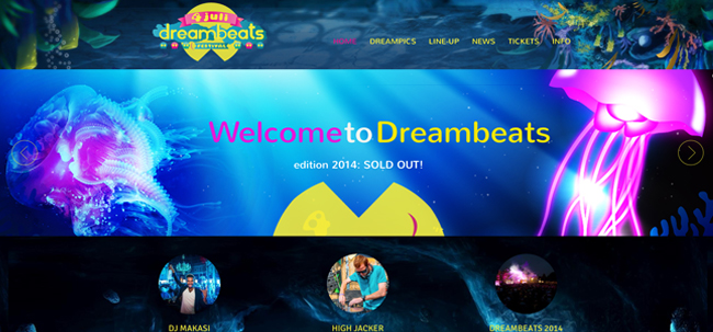 website-dreambeats-site
